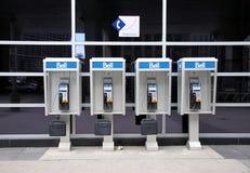 Cabines de téléphone de Bell Images stock