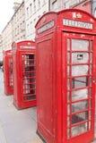 Cabines téléphoniques en Ecosse Photos stock