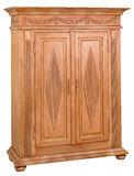 Cabinet 01. Cabinet in the style of period furniture on white background Stock Photo