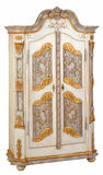Cabinet 04. Cabinet in the style of period furniture on white background Stock Images