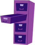 CABINET. A illustration of office cabinet unit Stock Photos