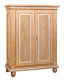 Cabinet. In the style of period furniture on white background Royalty Free Stock Photography