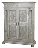 Cabinet. In the style of period furniture on white background Stock Photos