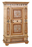 Cabinet. In the style of period furniture on white background Stock Image