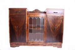 Cabinet antique australien de placage de cèdre vers 1924 Images stock