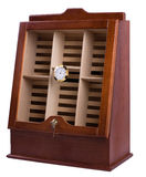 Cabinet for cigar storage Royalty Free Stock Photos