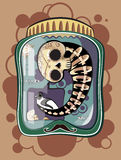 Cabinet_of_curiosities vector illustratie