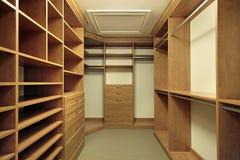 Cabinet de chambre à coucher principale Photo libre de droits