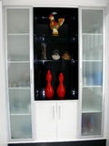 Cabinet display Royalty Free Stock Image