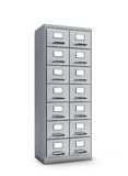 Cabinet documents. Cabinet documents isolated. 3D illustration Royalty Free Stock Photography