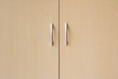 Cabinet doors background Stock Image