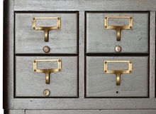 Cabinet Drawer Royalty Free Stock Images