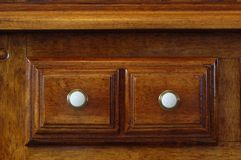 Cabinet drawer detail Royalty Free Stock Image