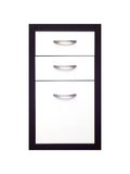 Cabinet Draws. A set of cabinet draws isolated against a white background Royalty Free Stock Image