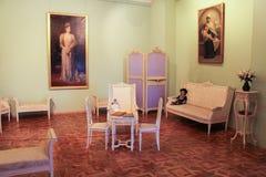Cabinet du ` s de reine dans le palais de Gatchina Photos libres de droits