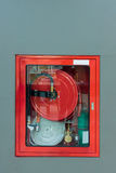 Cabinet Firehose Royalty Free Stock Photos