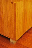 Cabinet and hardwood Royalty Free Stock Images