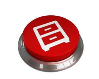 Cabinet icon. 3d illustration of Cabinet icon Royalty Free Stock Photos