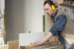 Cabinet maker Stock Photography