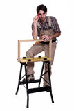 Cabinet maker Stock Photo