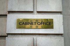 Cabinet Office London Royalty Free Stock Photography