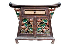 Cabinet Old wood,Thai style Royalty Free Stock Photos