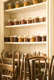 Cabinet in restaurant Stock Photography
