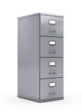 Cabinete de archivo stock de ilustración