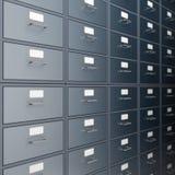 Cabinete de archivo ilustración del vector