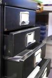 Cabinete de archivo #4 Imágenes de archivo libres de regalías