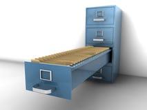 Cabinete de archivo Fotos de archivo