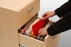 Cabinete de archivo Imagen de archivo