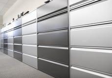Cabinetes de archivo Fotografía de archivo