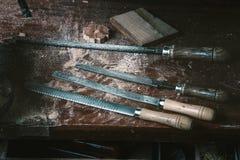 Cabinetmaker narzędzia Obrazy Stock