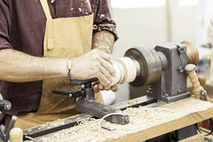 Cabinetmaker Woodworking Royalty Free Stock Photos