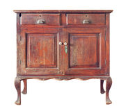 Cabinetround di legno fotografia stock