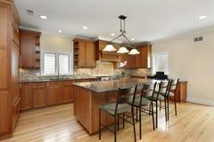 cabinetry drewno kuchenny dębowy fotografia royalty free