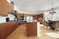 cabinetry kuchni drewno obraz royalty free