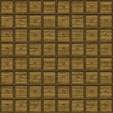 Cabinets. A seamless tiling pattern made from the fronts of stacked cabinets Stock Photography