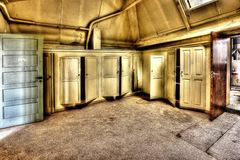 Cabinets, Doors, Hdr, Monastery Royalty Free Stock Photography