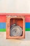 Cabinets pour des extincteurs Image stock