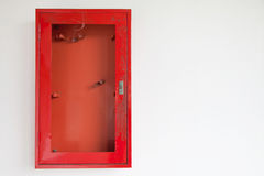 Cabinets pour des extincteurs Photo libre de droits