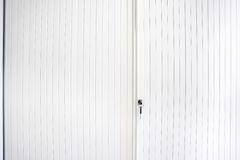 Cabinets sliding door Stock Photography