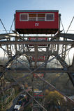 Cabing of the Wiener Riesenrad, famous ferris wheel in Vienna Stock Photos