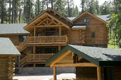 Cabins in the Black Hills of South Dakota Royalty Free Stock Images