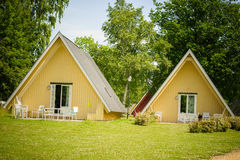 Cabins Royalty Free Stock Photo