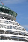 Cabins on cruise liner stock images