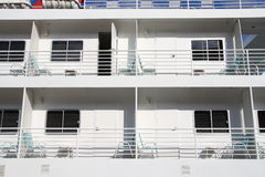 Cabins on cruise ships Royalty Free Stock Photos