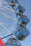 Cabins the ferris wheel against the sky Royalty Free Stock Images