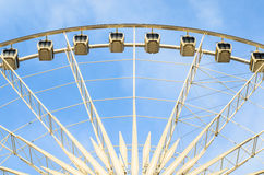 Cabins Ferris wheel Royalty Free Stock Photos